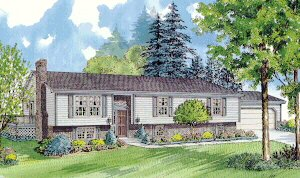 Raised ranch modular home plans unique house plans for Raised ranch basement ideas
